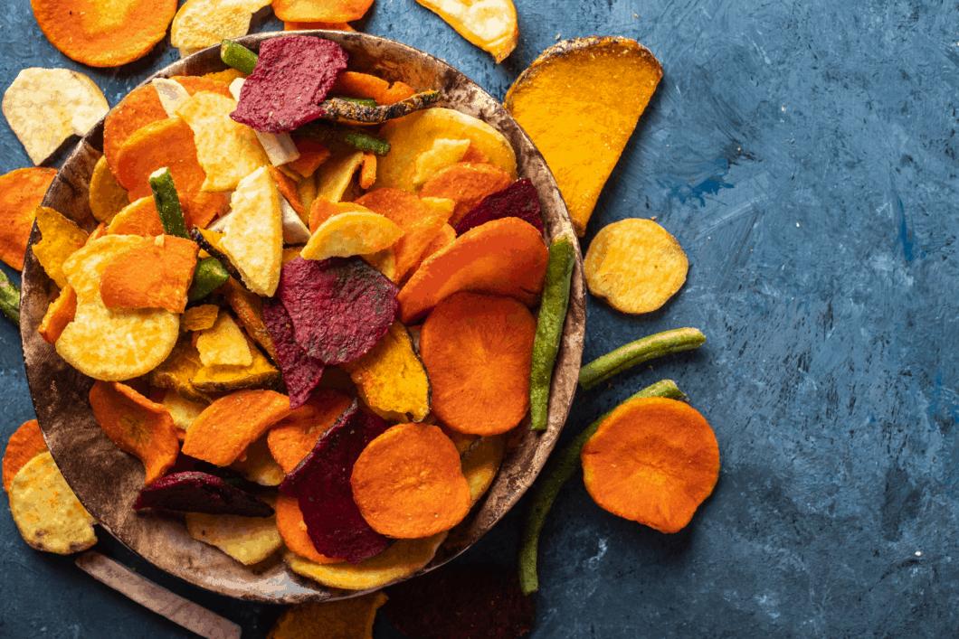 vegan chips als hamburger beilage | All Around Burgers